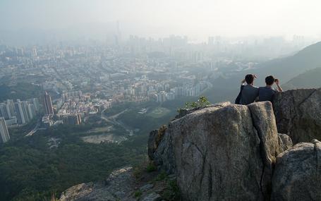 獅子山上 Lion Rock