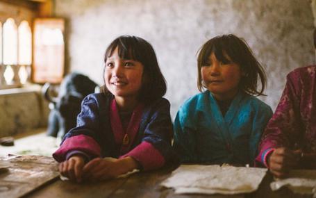 ブータン 山の教室 ブータン 山の教室