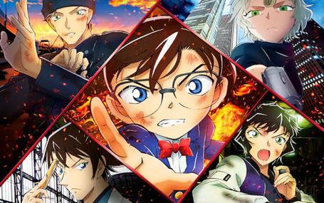 명탐정 코난: 비색의 부재증명 Detective Conan: The Scarlet Alibi 名探偵コナン 緋色の不在証明