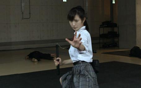 空手道美少女 Karate Girl