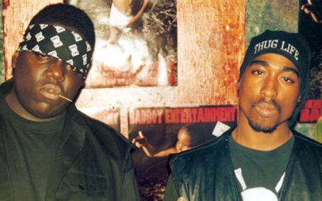說唱烈士 Biggie and Tupac