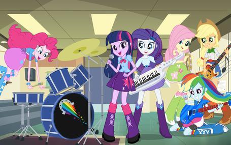 彩虹小馬小馬國女孩2之彩虹搖滾 彩虹小馬:小馬國女孩2之彩虹搖滾 My Little Pony: Equestria Girls - Rainbow Rocks