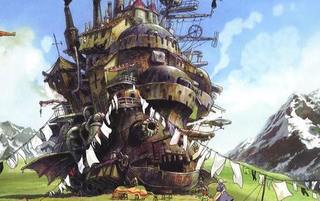 霍爾的移動城堡 ハウルの動く城