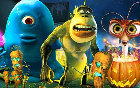 怪獸大戰外星人 Monsters vs. Aliens