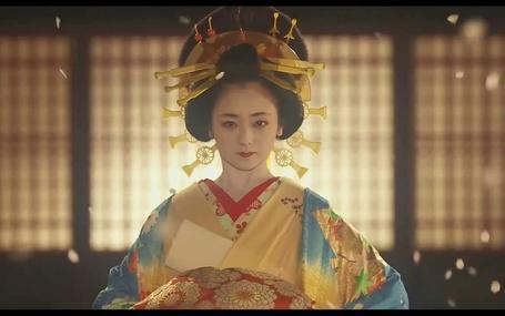 花宵道中 A Courtesan with Flowered Skin